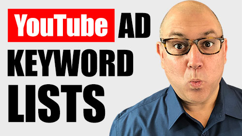 How To Manage YOUTUBE AD KEYWORD LISTS with VidTarget