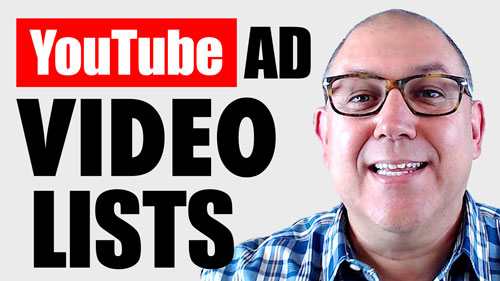 How to Manage YOUTUBE AD PLACEMENT LISTS with VidTarget